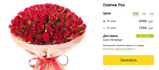 продвижение цветочного магазина