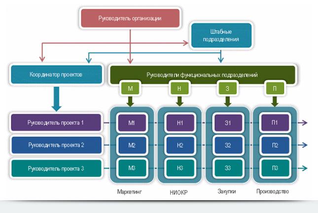 матричная организационная структура