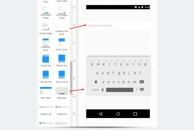 Material Design - Keyboard
