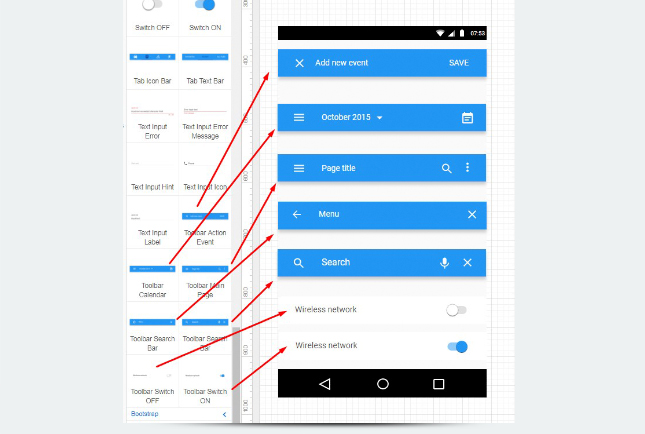 Material Design - Toolbar