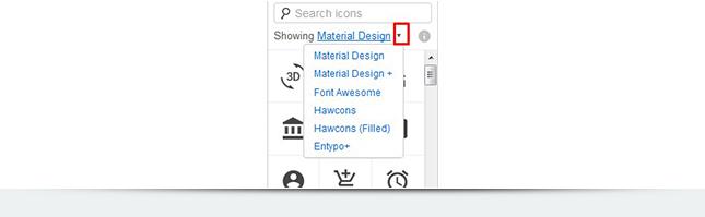 Как найти дополнительные иконки в мокапсе?
