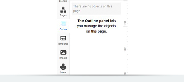Инструмент Outline