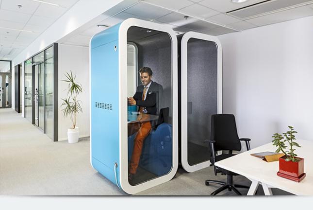 А у Вас в офисе есть телефонная будка?