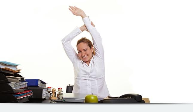 Утренняя зарядка поможет Вам быть продуктивнее