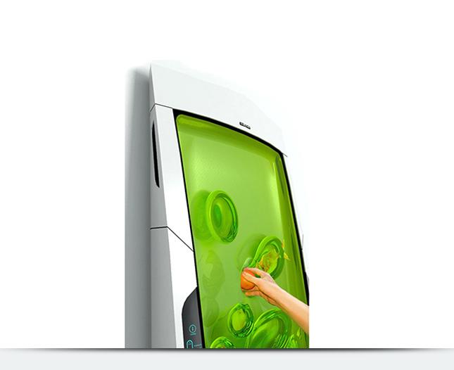 Так может выглядеть холодильник будущего. Готовы поставить такой у себя на кухне?