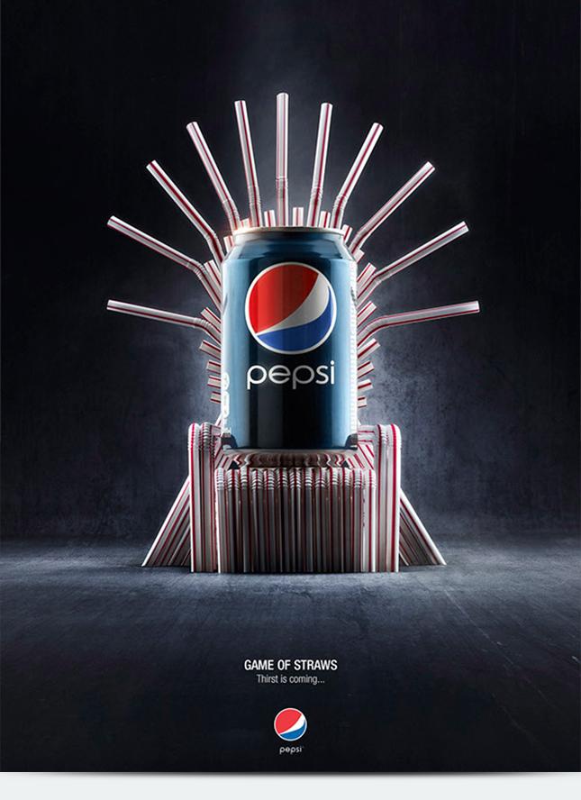 Железный трон из рекламы Пепси
